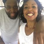 DJ Evil Dee and Yoga Instructor Stefanie Joshua - Breathe Brownsville Brooklyn Yoga Festival