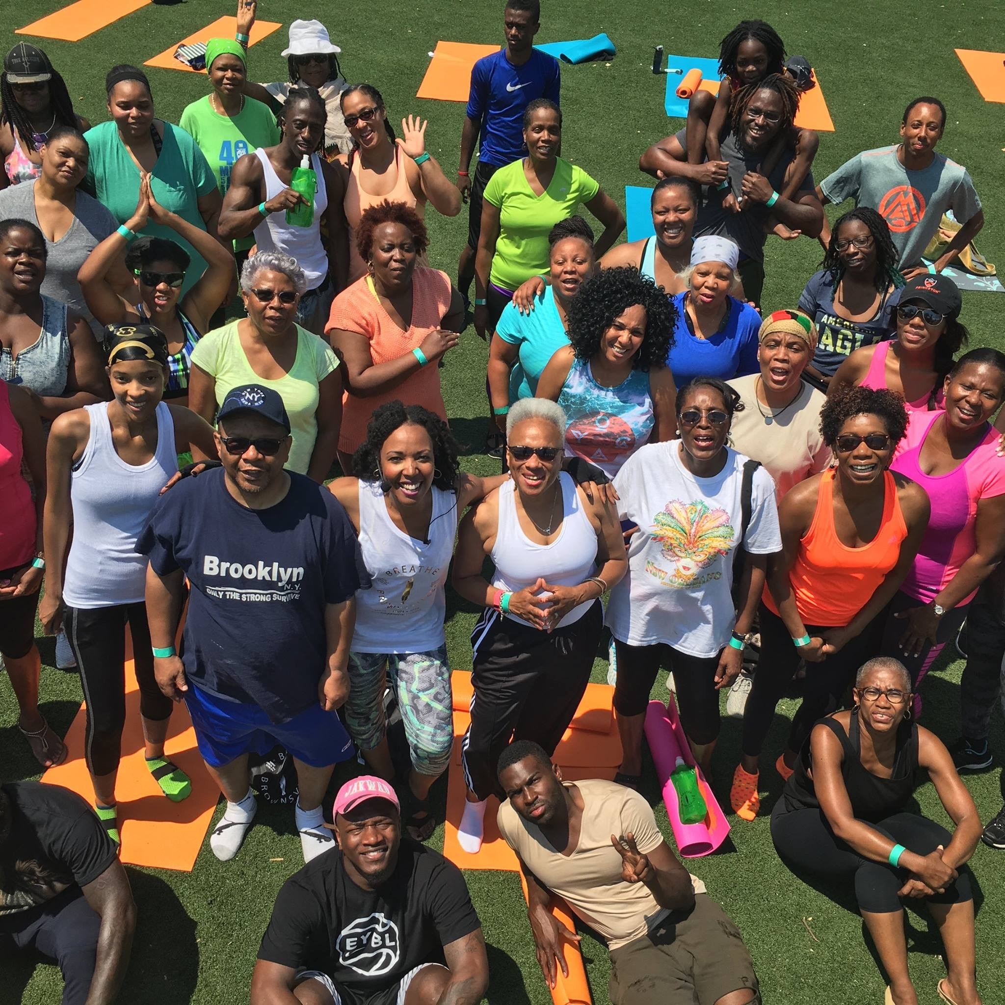 Our Breathe Brownsville Group Pic - Breathe Brownsville Brooklyn Yoga Festival